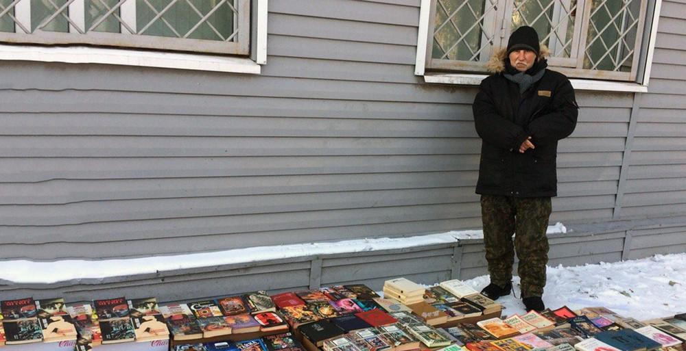 Бомж-просветитель. Как уличный продавец книг изгероя превратился вобъект травли