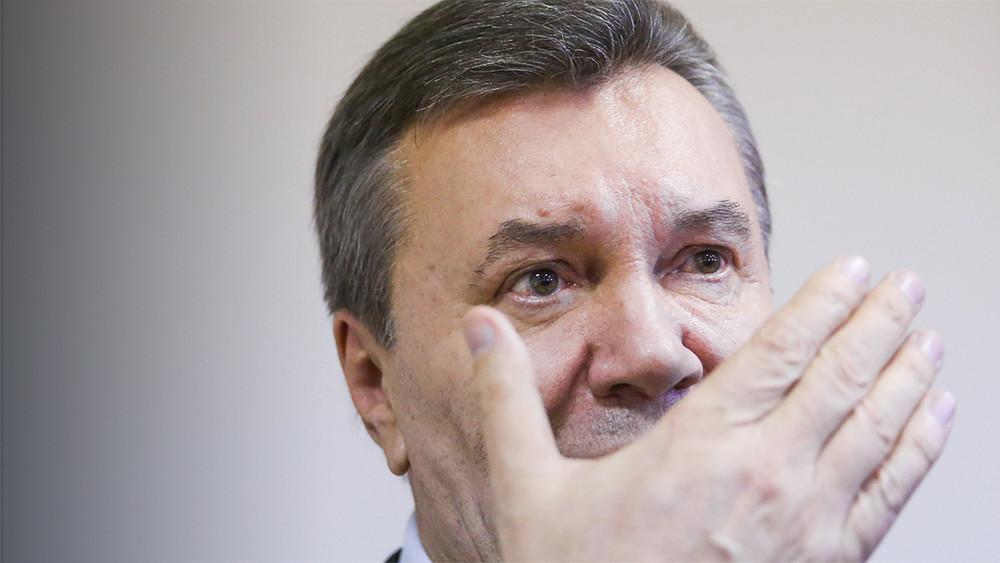 Виктор Янукович всуде рассказал особытиях наМайдане