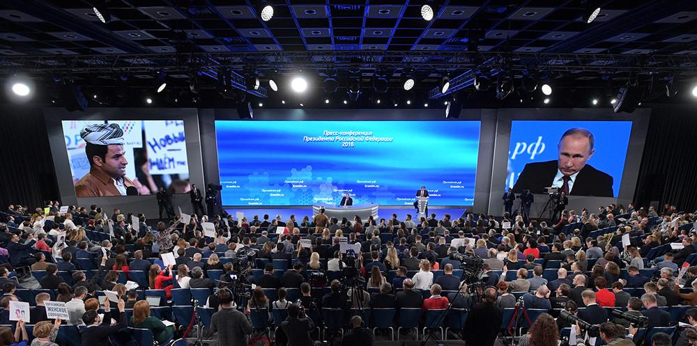 Пресс-конференция Путина: долго ибессмысленно