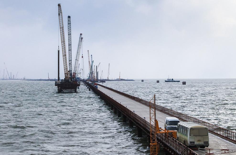 Керченский мост. Почему сорвался конкурс настроительство железнодорожных подходов