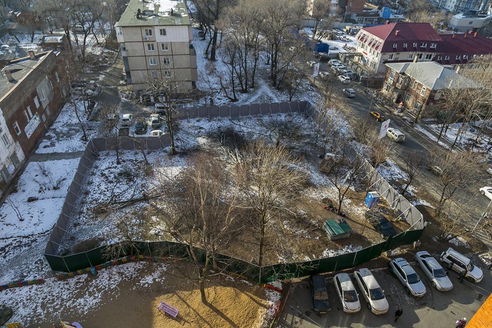 Вид настройплощадку. Фото: VL.ru