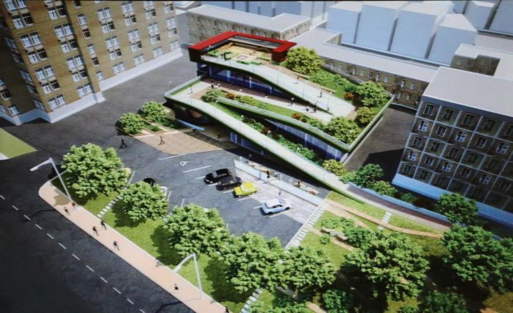 Проект будущего супермаркета, представленного наградостроительный совет. Фото: администрация Владивостока