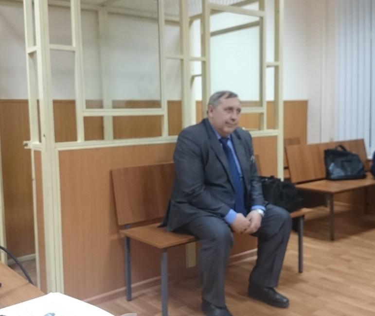 Геннадий Зацепилов взале суда