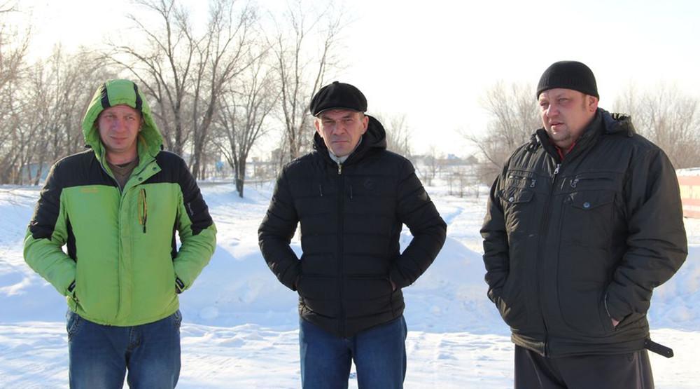 Голодовка строителей вОрске: люди готовы «зашить себе рты»