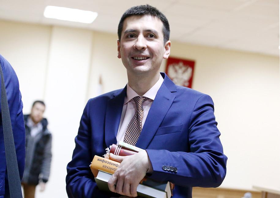 Дмитрий Угай вмировом суде. Фото: Петр Ковалев/ ТАСС