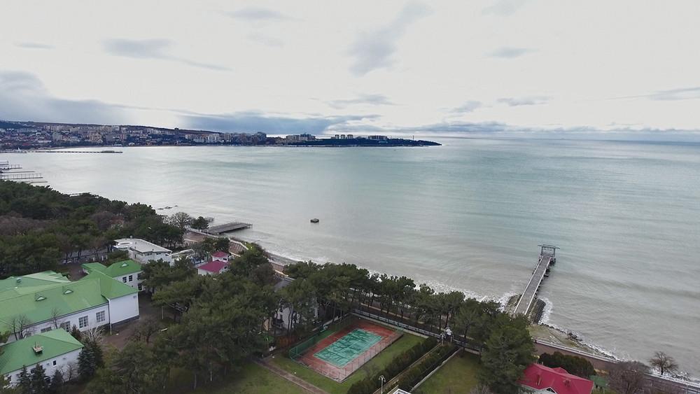 Вид нагеленджикский порт. Кадр: ЦУР