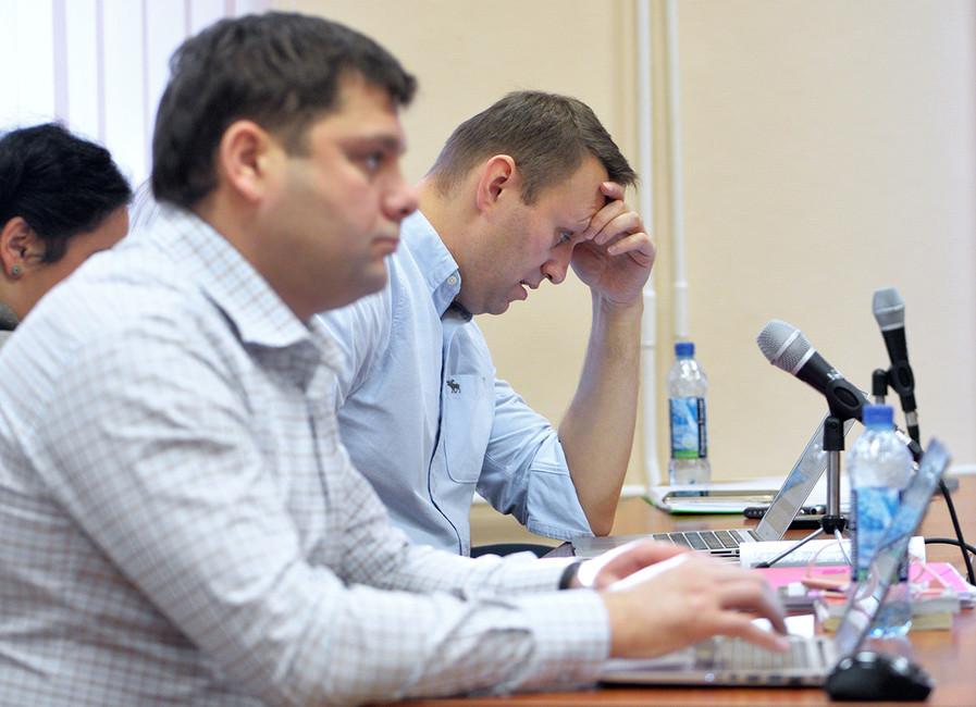 Навальный: «Меня все равно арестуют, почемубы несделать это прямо сейчас?»