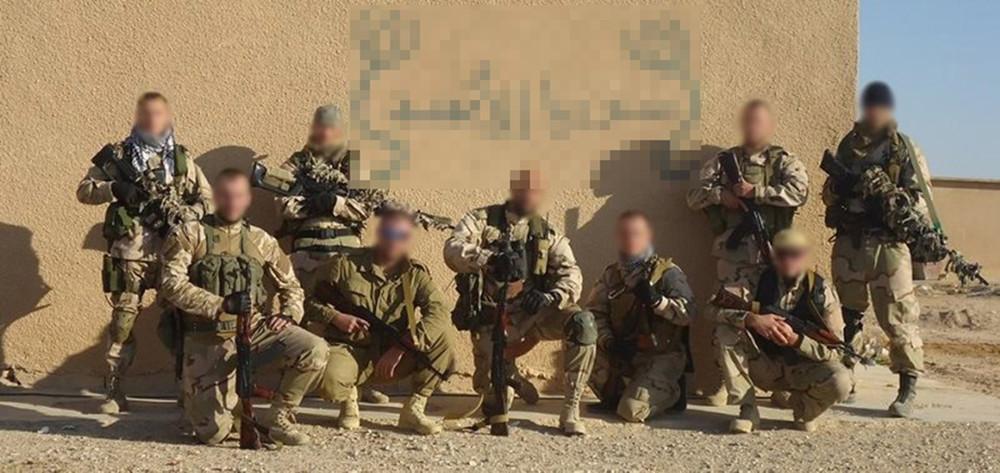 Бойцы «Славянского корпуса». Источник: Солдат удачи/ «ВКонтакте»
