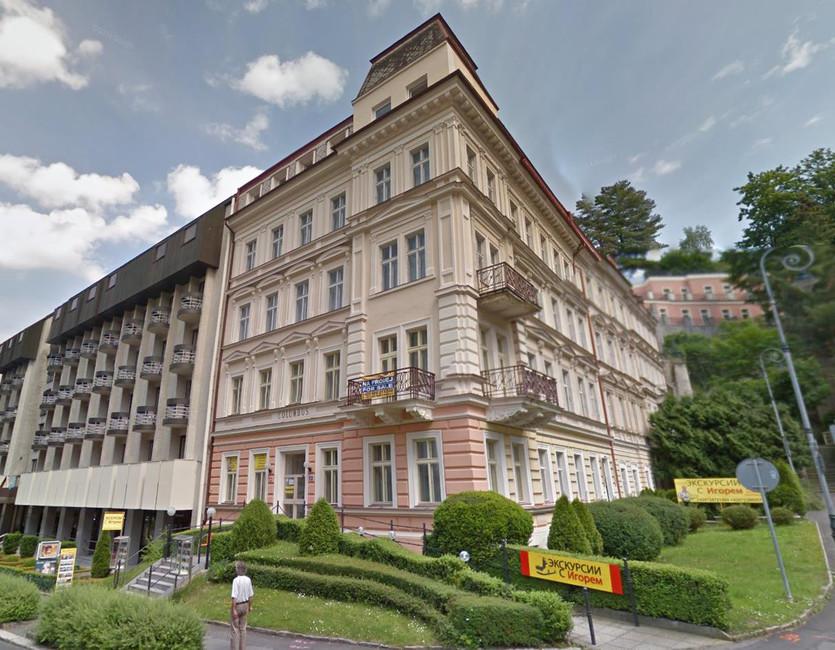 Карловы Вары, улица Sadova. Источник: munscanner.com