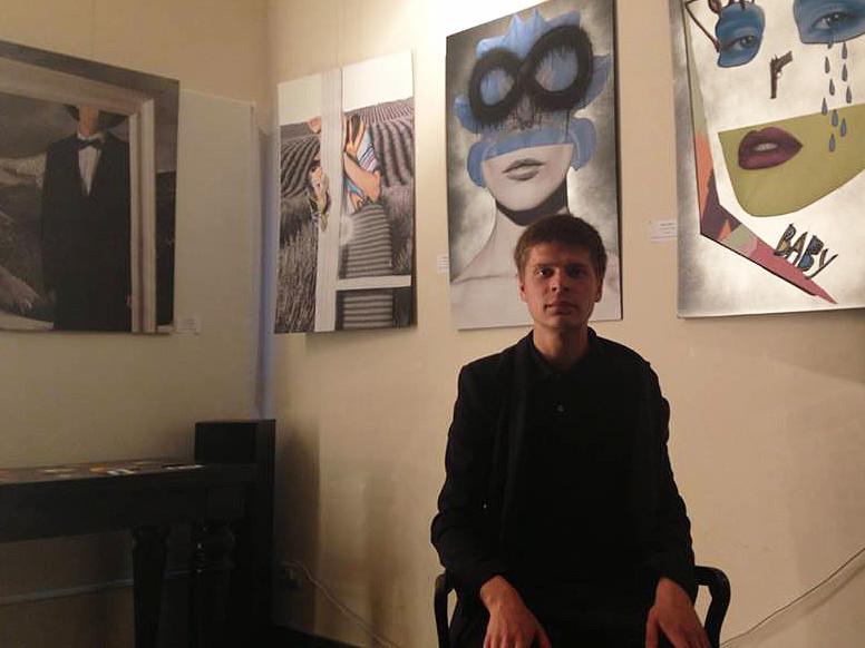 Василий Березин, актер, бывший бойфренд Слониной. Фото: личная страница вFacebook