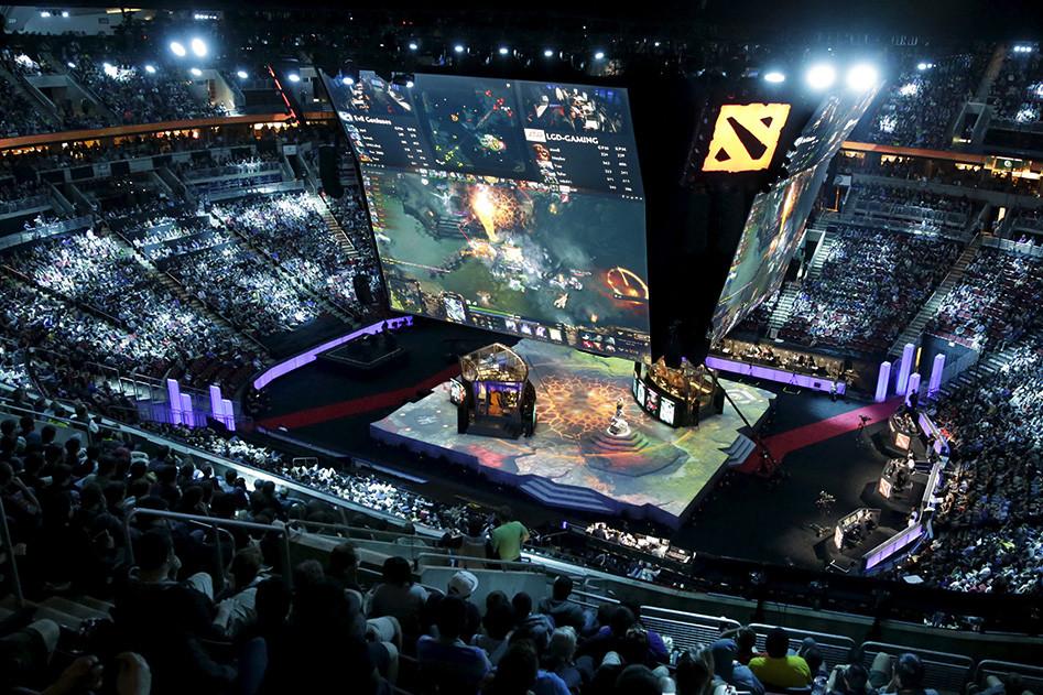 Чемпионат поDota 2в Сиэтле. Фото: Reuters