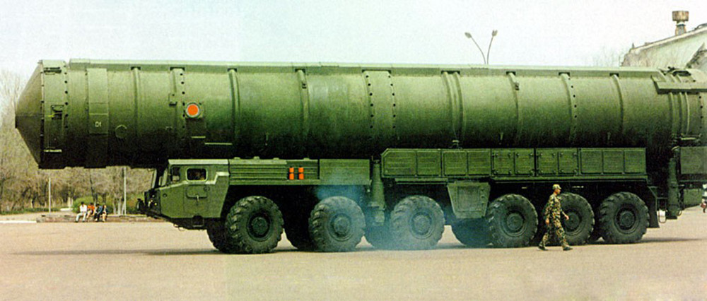 Баллистическая ракета DF-41
