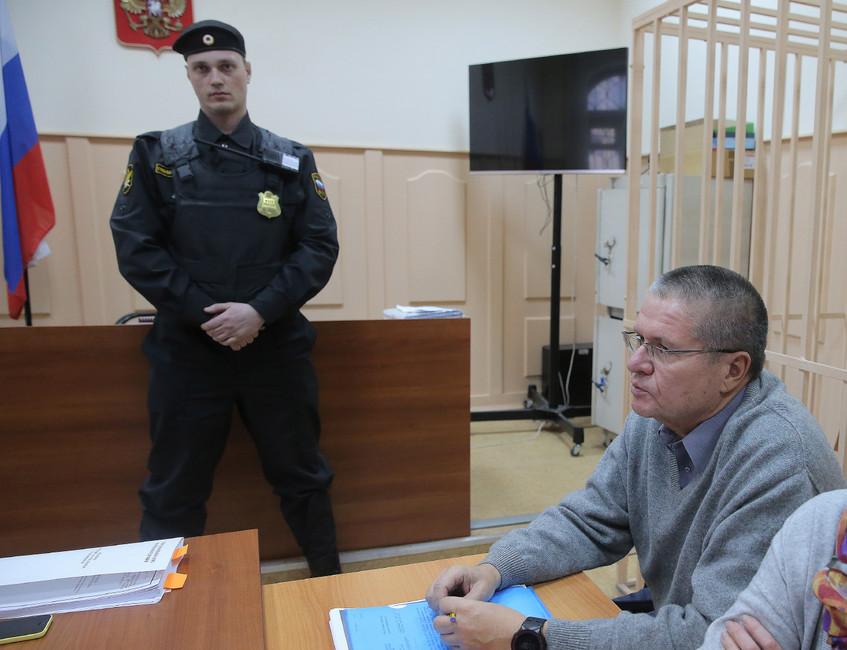 Алексей Улюкаев вБасманном суде. Фото: Сергей Савостьянов/ ТАСС
