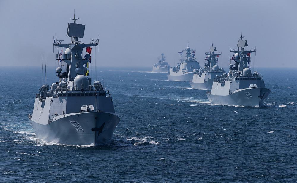 Военно-морской флот Китая. Фото: Reuters
