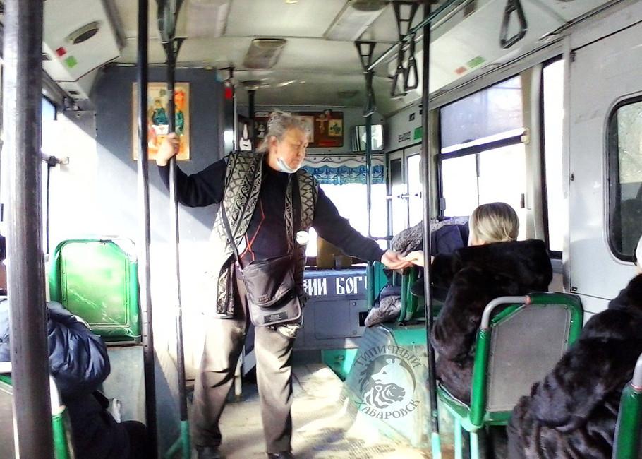 Автобус маршрута №29в Хабаровске. Фото: Типичный Хабаровск/ Вконтакте