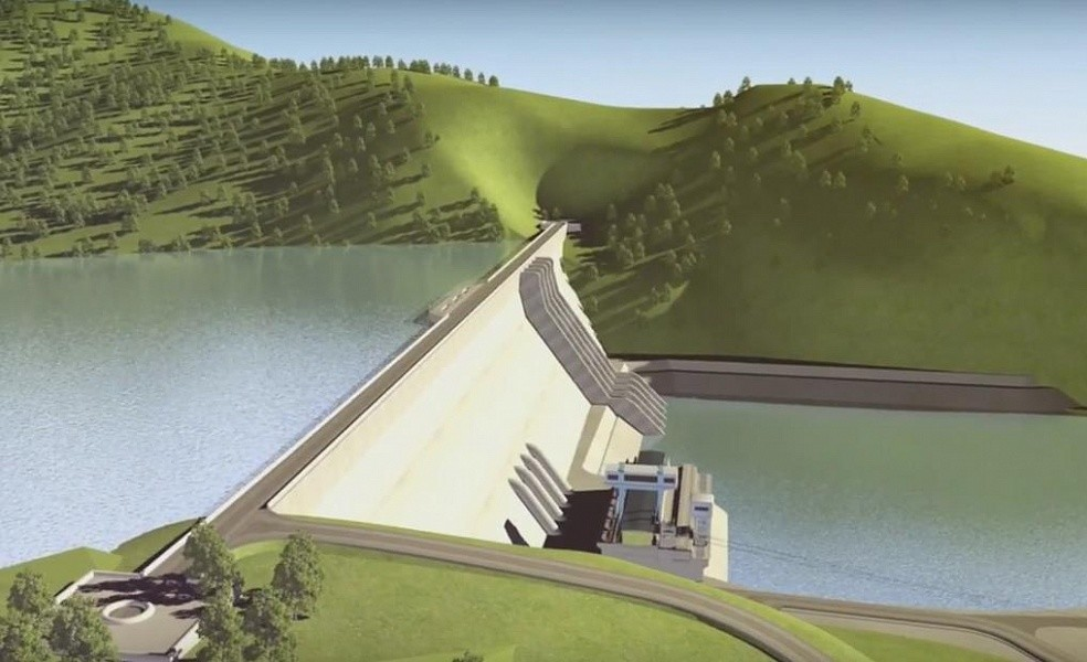 Проект ГЭС нареке Эгийн-гол. Кадр: Youtube