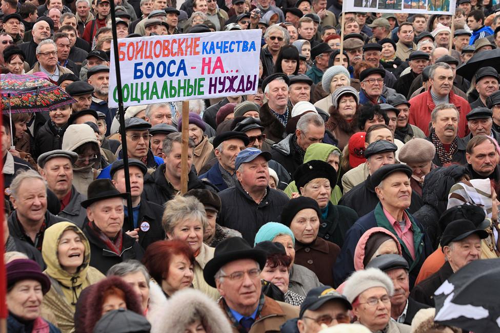Митинг кКалининграде. Фото: Эдуард Молчанов/ ТАСС