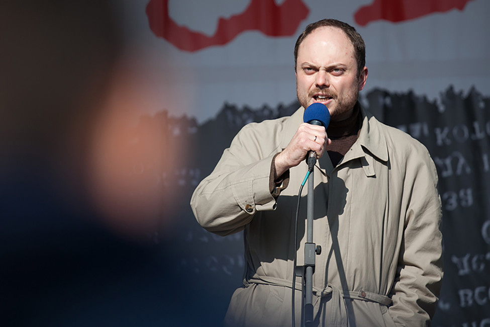Владимир Кара-Мурза-младший вышел изкомы