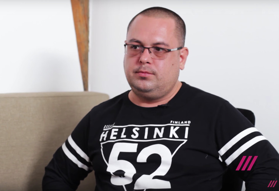 Александр Глазастиков. Кадр: tvrain.ru