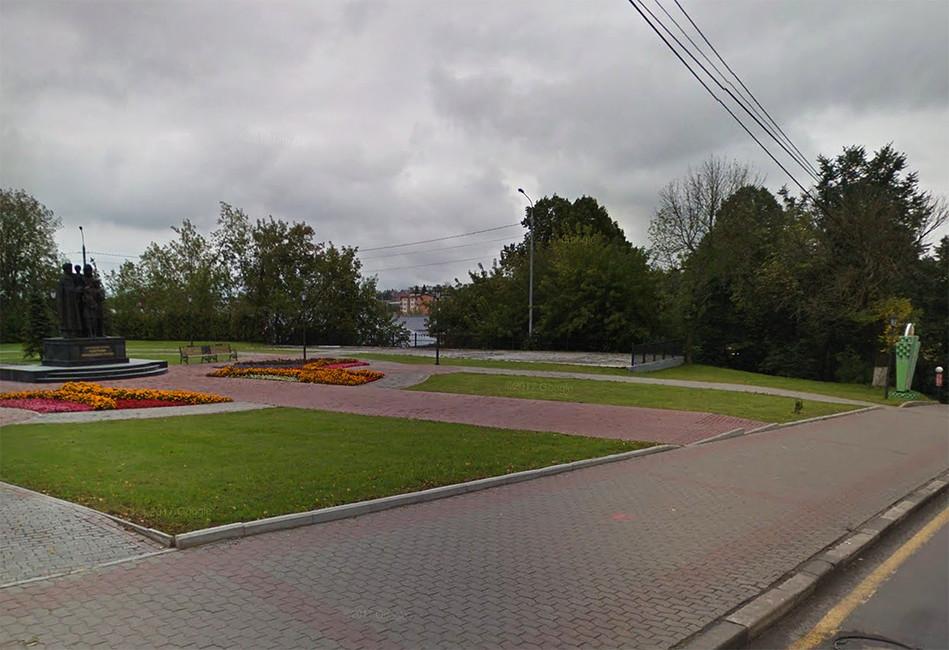 Земельный участок упамятника родителям преподобного Сергия Радонежского. Фото: google maps