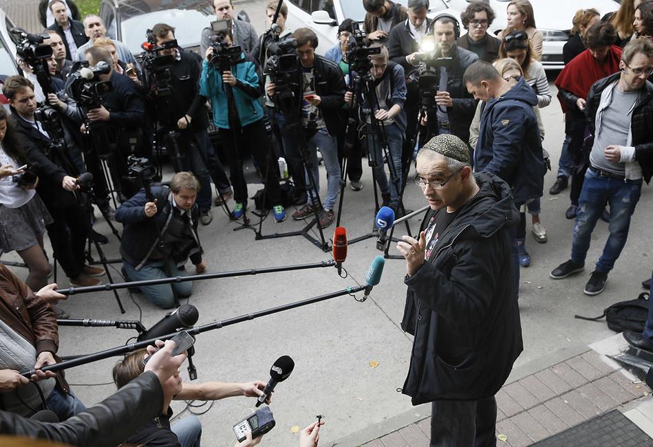 Антон Носик: «Мыбудем бороться с282 статьей УКРФвовсех инстанциях»