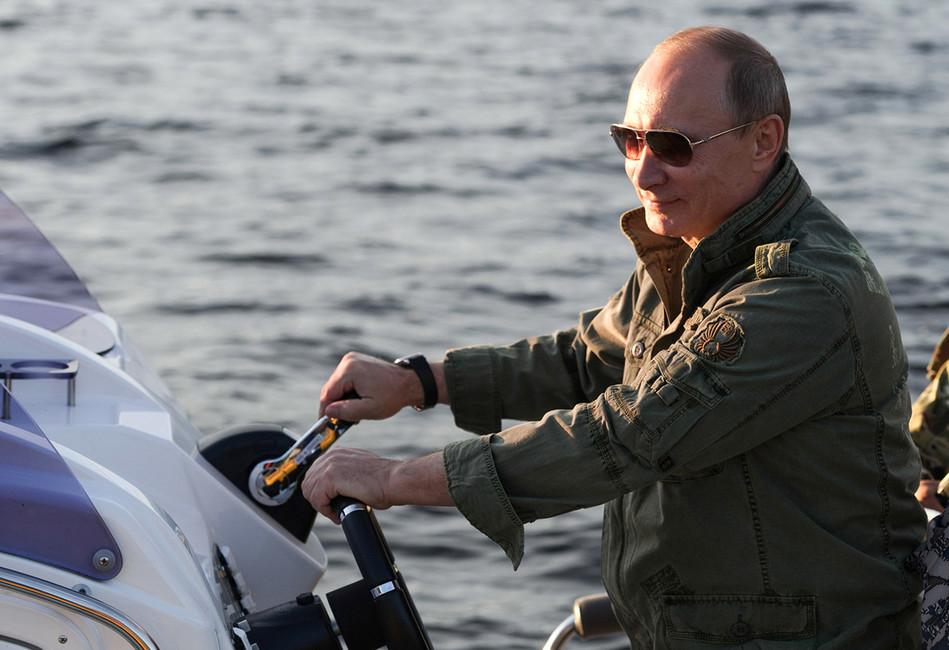 Последний год Путина