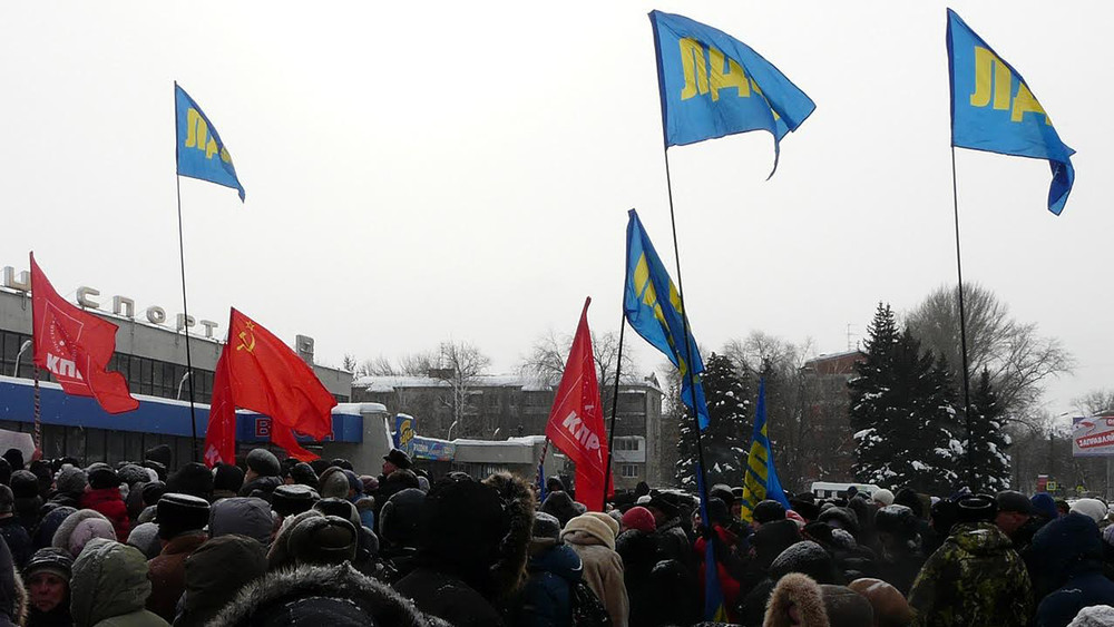 Пенсионеры Самары требуют отПутина немедленной отставки Меркушкина