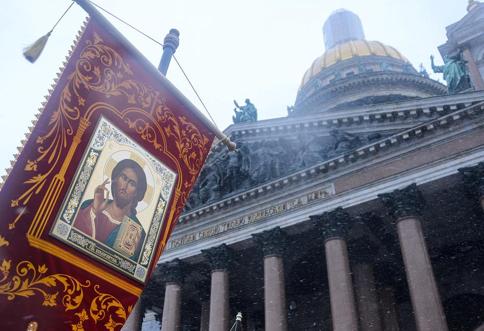 ВПетербурге началась кампания запроведение референдума осудьбе Исаакиевского собора