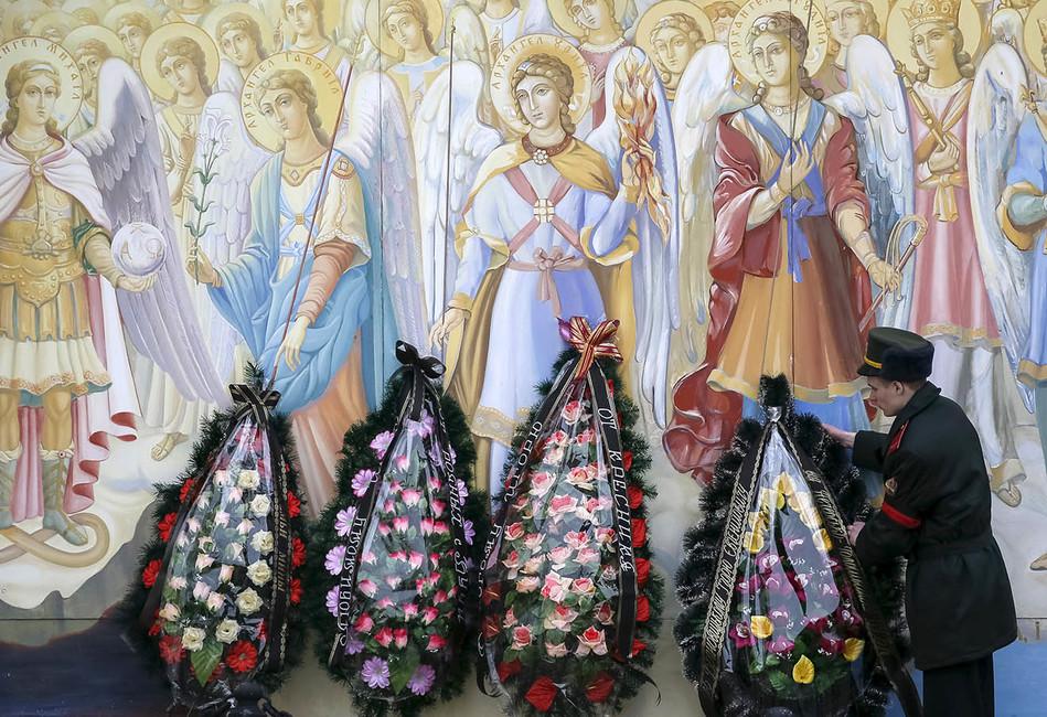Похороны украинского солдата вКиеве. Фото: Gleb Garanich/ Reuters