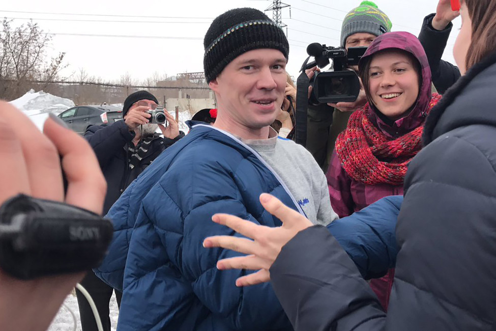 Ильдара Дадина освободили изколонии
