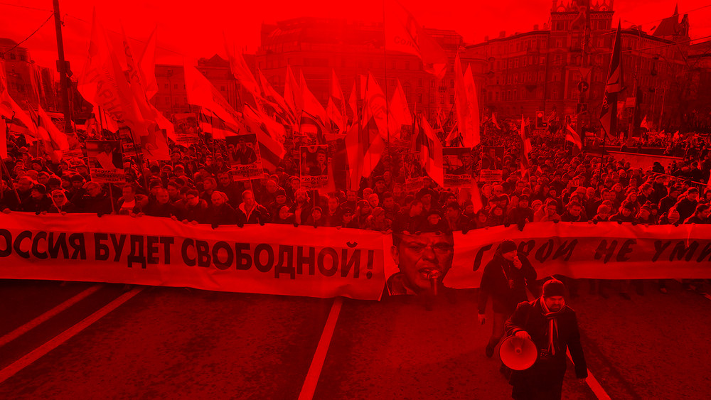 Марш Бориса Немцова. Прямая трансляция