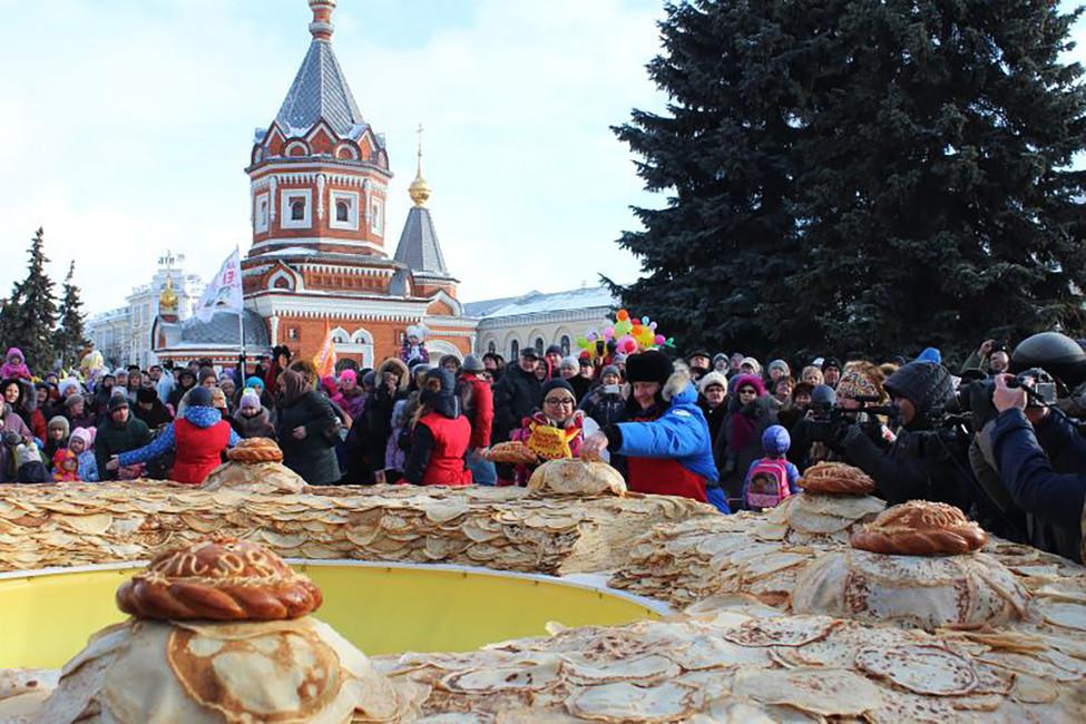 <p>Как в&nbsp;России прошла масленичная неделя</p>