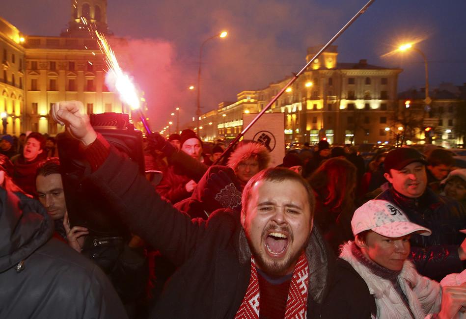 Протестные митинги вБелоруссии: Лукашенко невсилах устраивать побоища наплощадях
