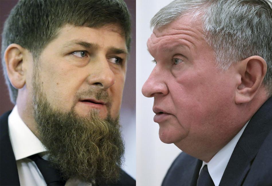 Спор, кто круче— Сечин или Кадыров, по-прежнему неразрешен