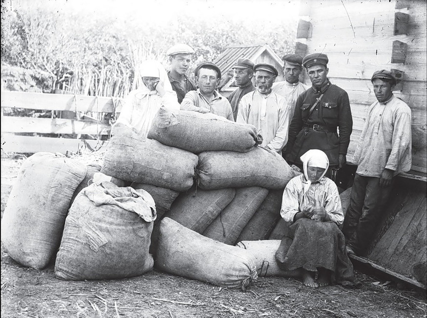 Раскулачивание крестьян, 1930год.