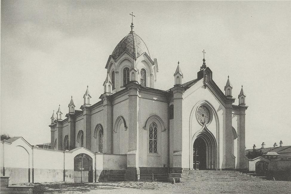 Римско-католический храм святых апостолов Петра иПавла, 1883год.