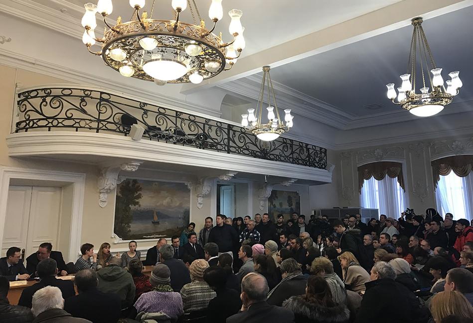 Встреча спредставителями торгово-промышленной палаты. Фото: Эмиль Гараев