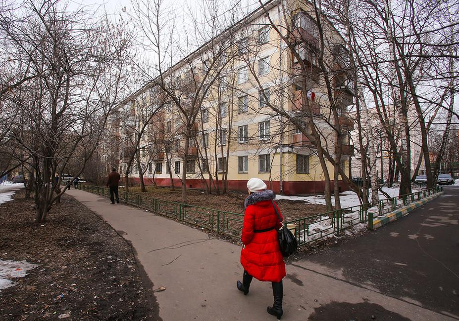 «Хрущевка» вМоскве. Фото: Андрей Махонин/ ТАСС