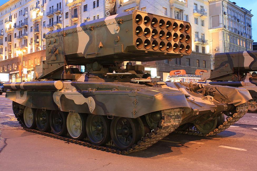 Тяжелая огнеметная система ТОС-1 «Буратино». Фото: Wikimedia Commons