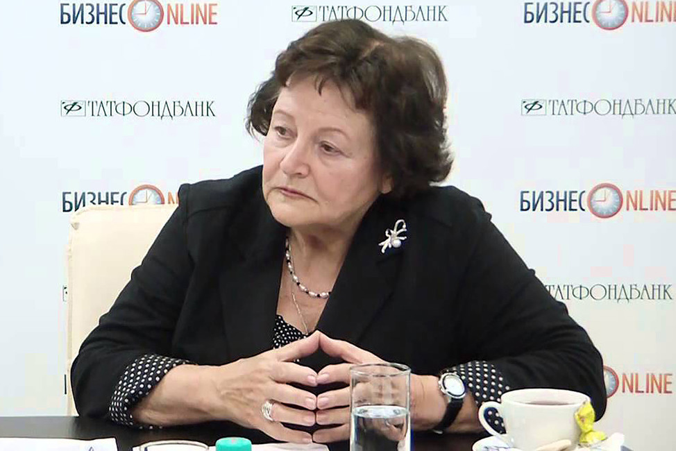 Этносоциолог Леокадия Дробижева. Кадр: Youtube