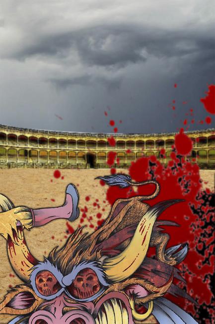 Эскиз кмультфильму «Последний матадор»