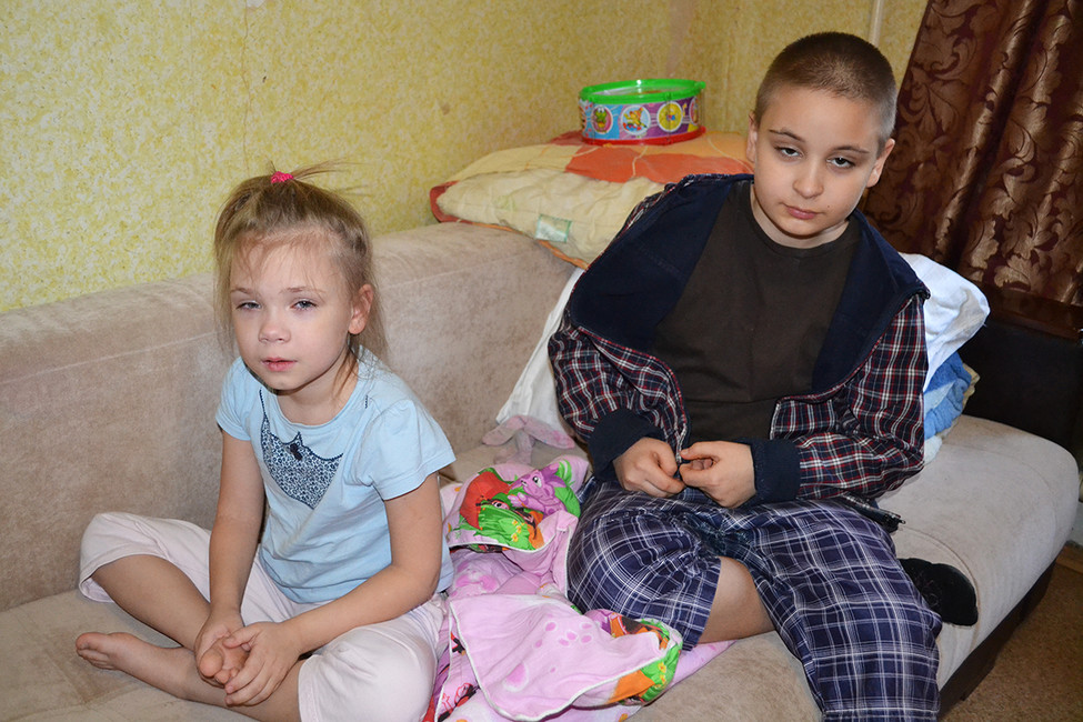 Соня иСережа Дьяковы. Фото: Анна Васильева
