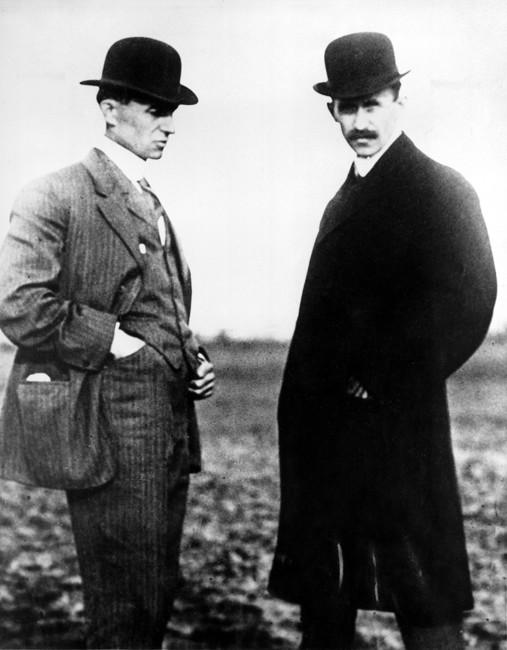 Уилбур (слева) иОрвилл Райт. Фото: AP