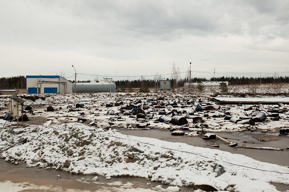 Полигон токсичных отходов «Красный бор». Фото: Евгений Степанов/ Интерпресс/ ТАСС