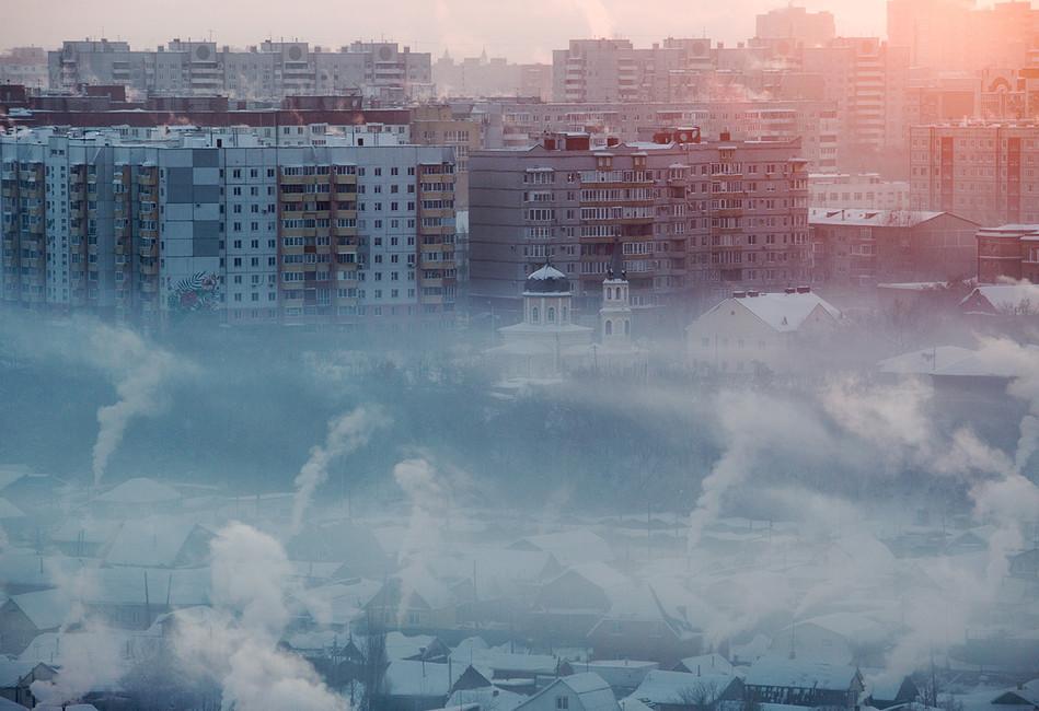 Омск. Кто стоит заотравлением воздуха вгороде