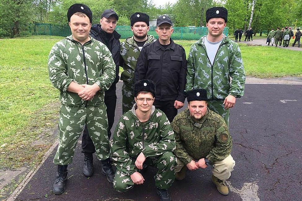 Представители «Казачьего корпуса». Источник: mediaryazan.ru
