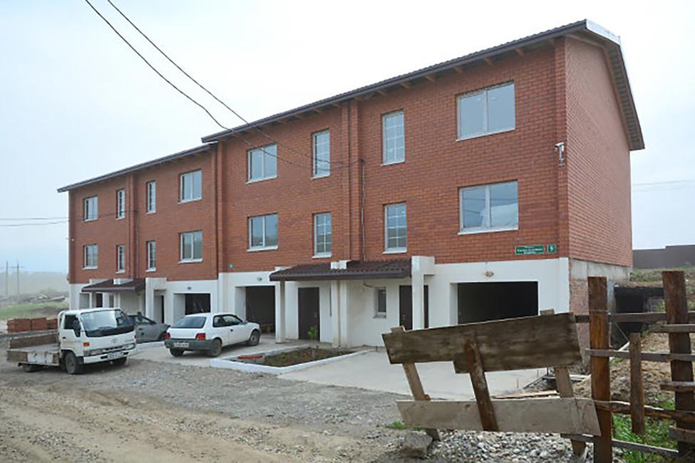 Построенная часть квартала имени Рамзана Кадырова. Фото: сайт застройщика