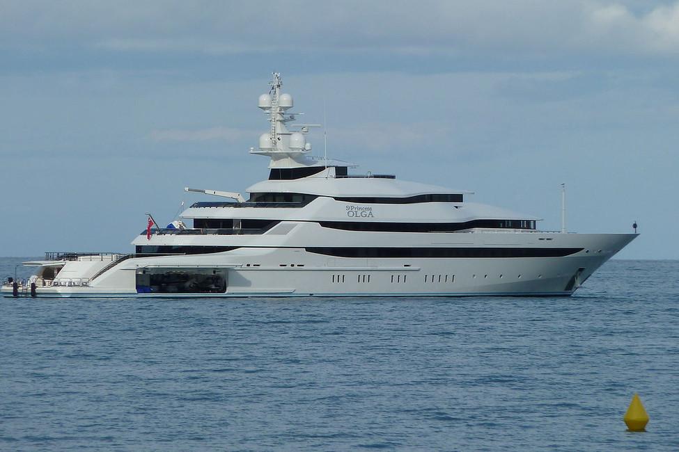 Яхта St. Princess Olga. Фото: Abxbay