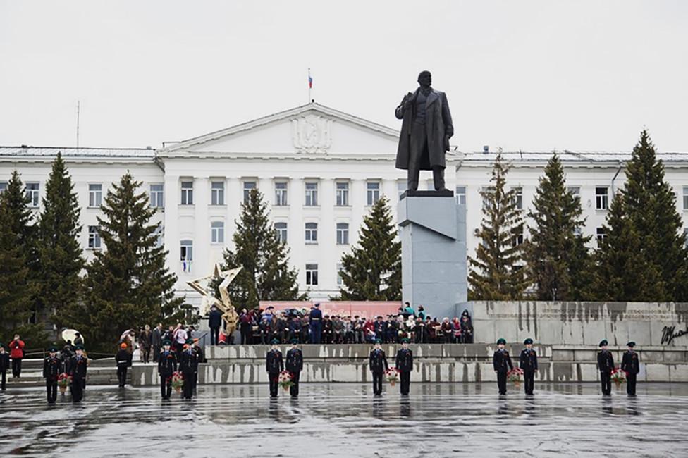 Площадь имени Ленина вКургане. Фото: Александр Кулинич