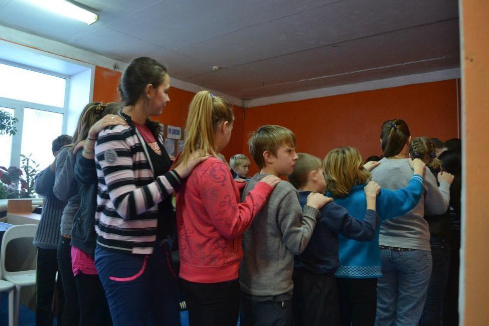 Воспитанники Спицынского детского дома. Фото: Анна Старинчикова